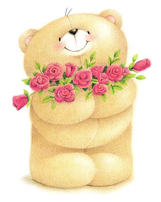 Tu osito te ama y te manda rosas para una mujer hermosa