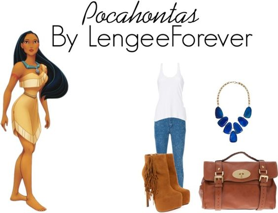 """pocahontas"" by niley12345 on Polyvore"