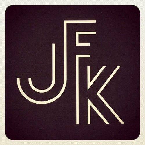 JFK logo (photo by draplin)