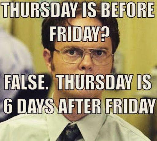 Pin On Funny Thursday Memes