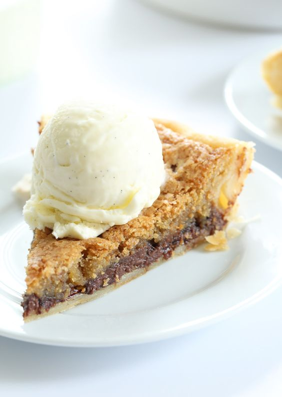 How is it that I'd never, ever heard of a Toll House Chocolate Chip Pie? So many people seem to have misty-eyed childhood memories of this fudgy cookie-like pie with the flaky pastry crust. They made it every year for …