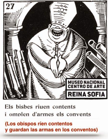Asociación de Abogados Cristianos: Un obispo con armas en el Museo Reina Sofía