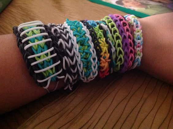 different types of rainbow loom braclets maggies pins