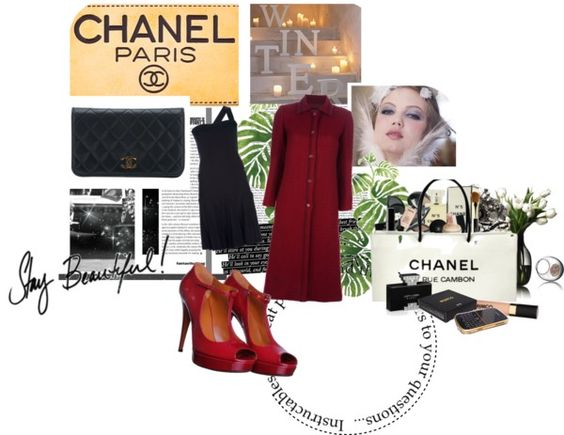 """""""Chanel..."""" by staciegh ❤ liked on Polyvore"""