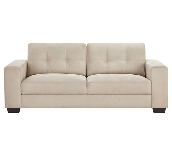 $499 Seattle 3 Seater Sofa   Fantastic Furniture  SEESOF3STOOOFABBIS_PD_1 | House Ideas | Pinterest | Living Rooms,  Armchairs And Room