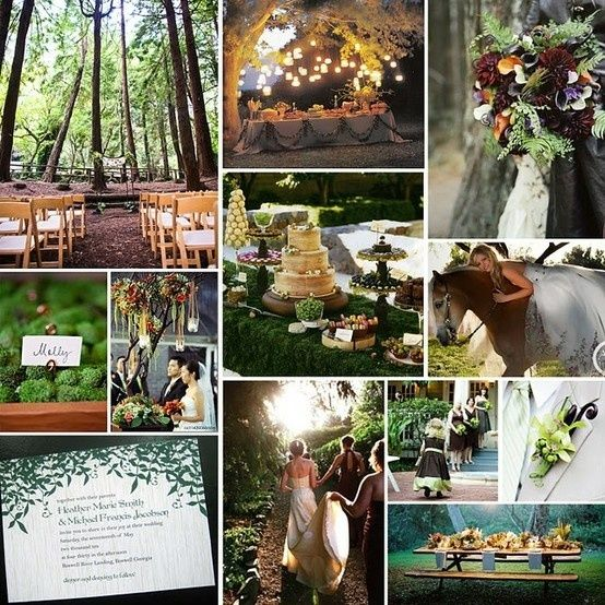 Forest Wedding Decorations | Enchanted forest wedding