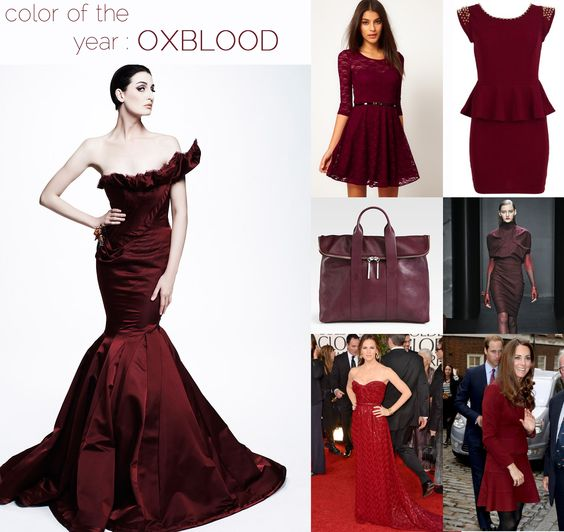COLOR STORY : OXBLOOD