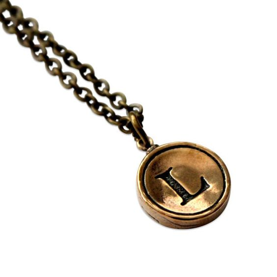Knot the Norm - Initial Letter Charm Necklace