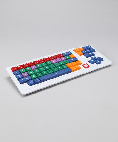 Take a look at this White Stage II Big Kid Keyboard by My TechStart! on #zulily today!