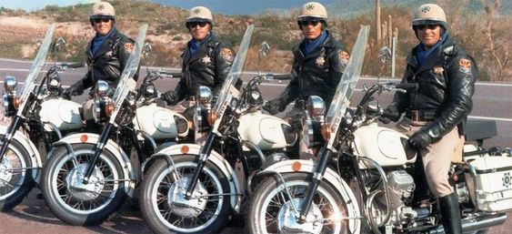 Arizona Highway Patrol Motorcycle Officers 1972 .  I remember when the department first started using the motorcycles. I was there in 1972 and most likely even knew the officers in this picture.:
