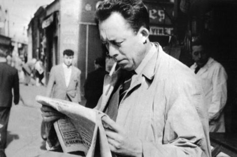 Albert Camus reading