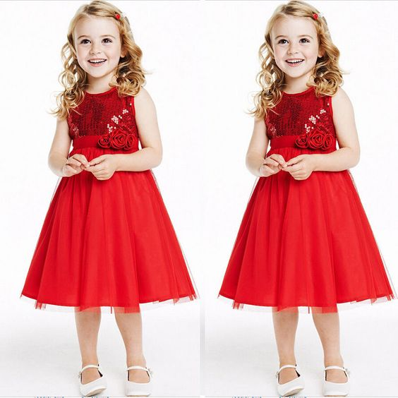140 6-7 Years 23 33 88 - Package includes:- 1 x Kids Girls Formal Party Dress. - 100% Brand New With High Quality. - Quality is the first with best service. Customers all are our friends.