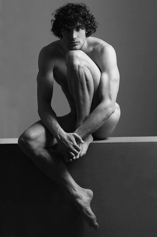 Artistic nude man