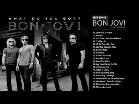 Bon Jovi Greatest Hits Full Album Best Songs Of Bon Jovi Nonstop
