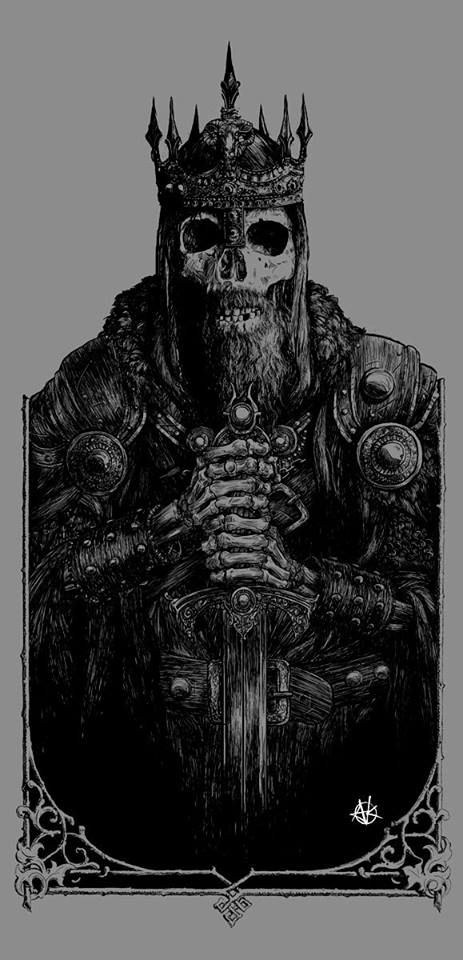 """Undead King. The talmud says """" there a so many Kings, Queens, princes etc in Hell """""""