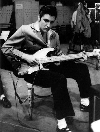 Elvis | Playing Bass Guitar | Enigma | InfinityBass.com