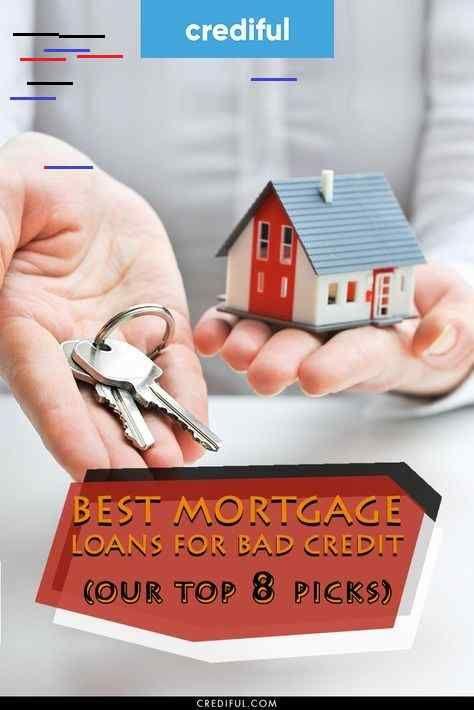 9 Best Mortgage Loans For Bad Credit Top Picks Of 2020 In 2020 Loans For Poor Credit Best Mortgage Lenders Mortgage Loans