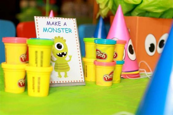 """Photo 2 of 33: Little Monster Bash / Birthday """"Lucas's 1st Birthday Party""""   Catch My Party"""