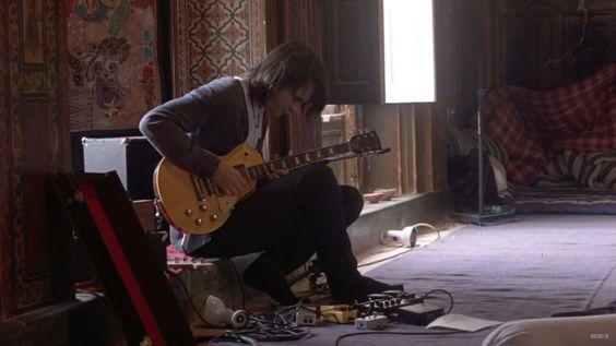 "The Radiohead guitarist Jonny Greenwood in Paul Thomas Anderson's ""Junun."""
