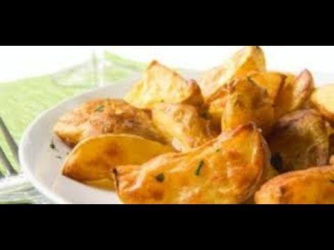 بطاطس ودجز بالفرن بطاطس ودجز مثل المطاعم باقل التكاليف بطاطا صحية بالفرن Snacks Food Snack Recipes
