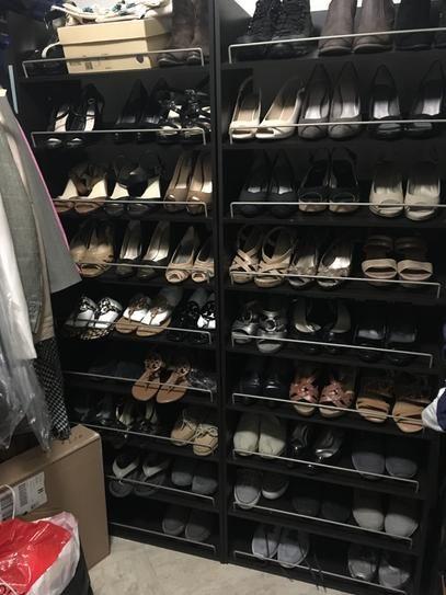 closet shoe storage shoe organizer
