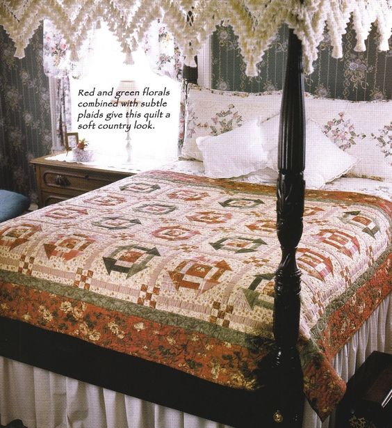 Quilt PATTERN ~ Sweet Adeline ~ Quilting Pattern from Magazine