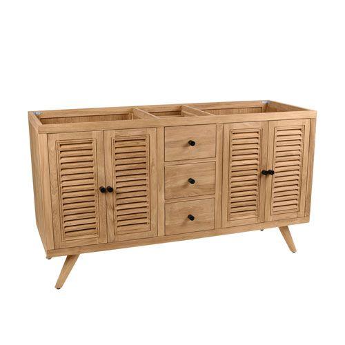 41++ 60 inch natural wood vanity best