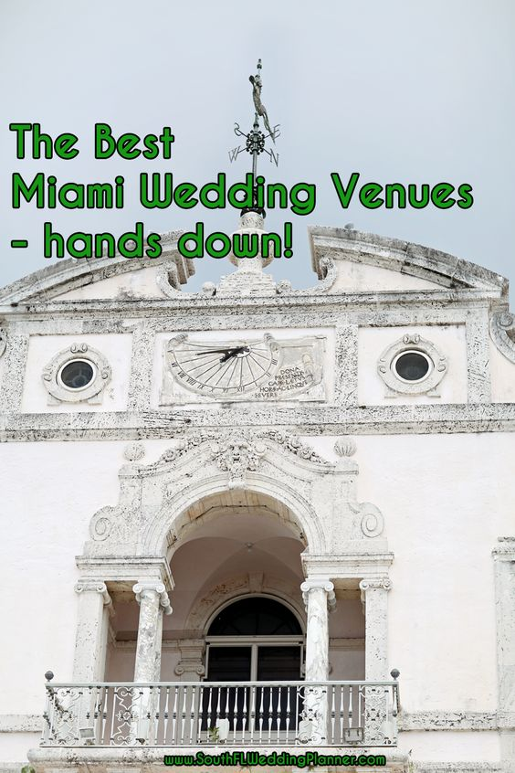 The Best Miami Wedding Venues – Hands Down! » Miami Wedding Planner