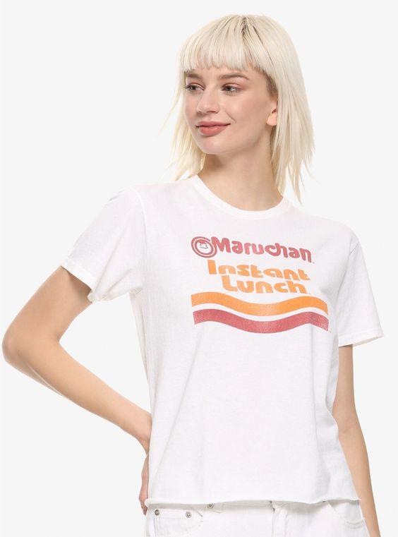 Maruchan Instant Lunch Ramen Girls Crop T-Shirt