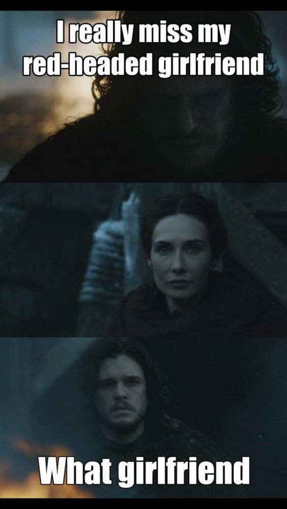 Jon Snow & Melisandre