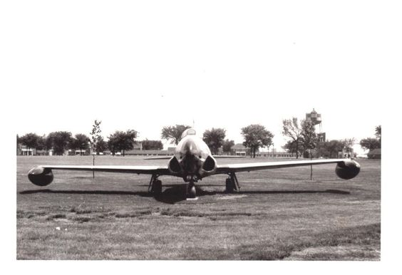USAAF UNITED STATES ARMY AIR FORCES 1950s PHOTO P80 SHOOTING STAR 1ST JET FIGHT
