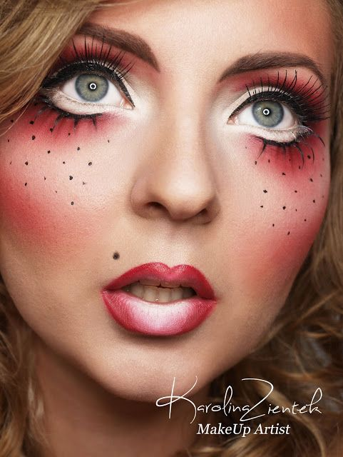 Karolina Zientek Makeup Blog: Charakteryzacja | halloween ...