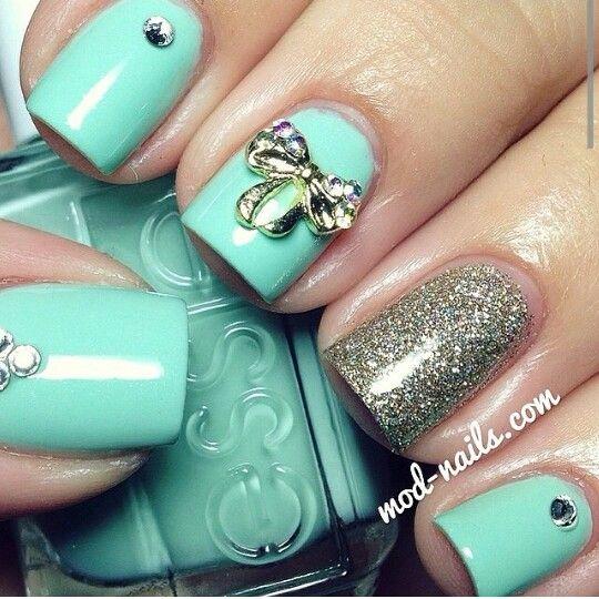 Menta Verde, Vestidos, Hasta Nails, Uñas Droga, Uñas De Fantasía, Ideas Para Uñas, Uñas Fabulosas, Uñas Hermosas, Nails Arty