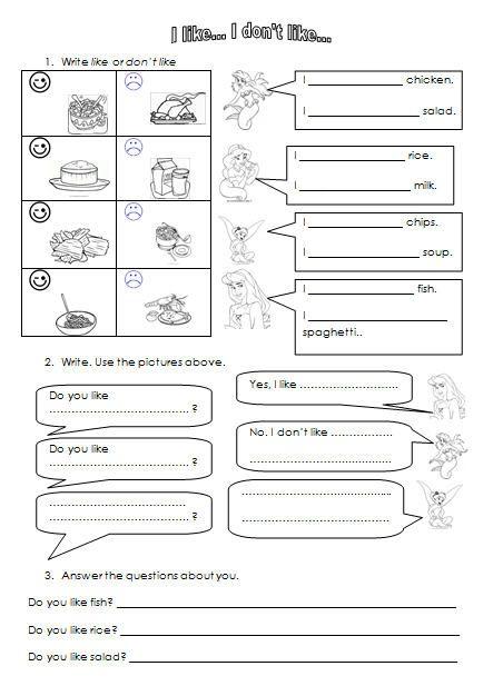 math worksheet : like don t like kindergarten worksheet  grammar  pinterest  : T Worksheets For Kindergarten