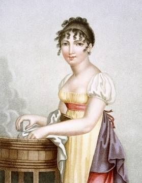 "Madame G. Busset-Dubruste ""The Laundress"" 1816:"