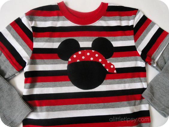 Disney shirts and pirates on pinterest for Diy disney shirt template