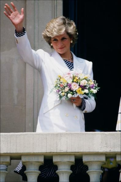 May 1987:  Princess Diana at the Cannes Film Festival In Cannes, France.