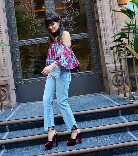 Em todas as fashion weeks, a @tigresseoficial está comigo 😍 O que é esse jeans maaaaara que acabou de lançar? To in love!