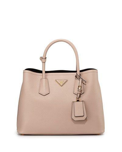 prada handbags small - Prada Saffiano Cuir Small Double Bag, Blush | Bags | Pinterest ...