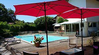 Villa récente plein Sud grand confort, piscine 9X5m, internet ...Lège Cap-Ferret - Gironde   Abritel