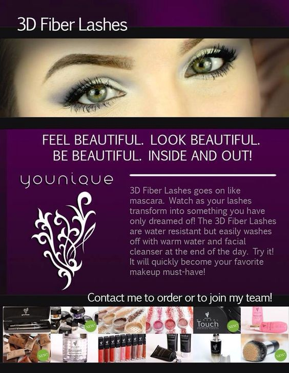 Try the 3D lashes with a guarantee!