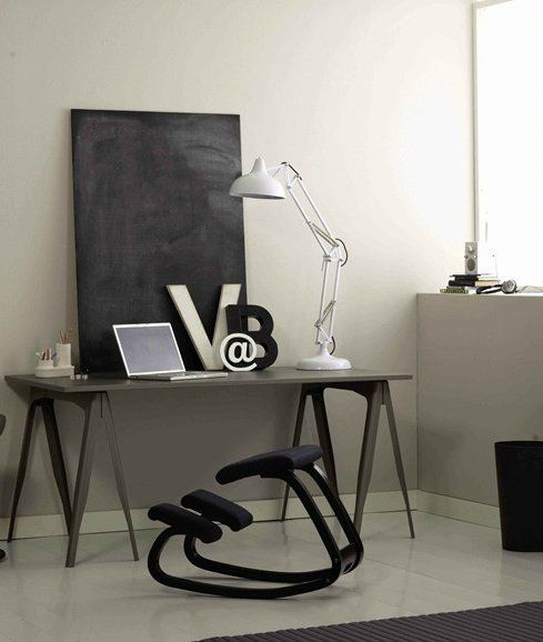 Rocking ergonomic #chair VARIABLE™ BALANS® by Variér Furniture  # ...