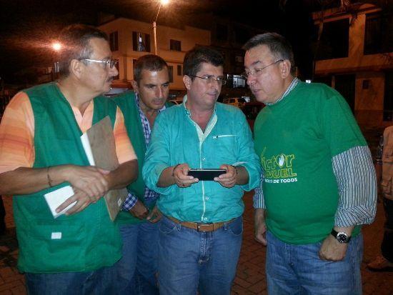 """Comuna del Café, """"firme"""" con Victor Manuel Tamayo"""