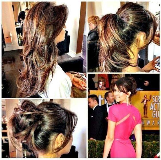 Nina dobrev pretty hair