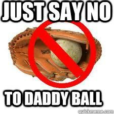 Monday Meme ~ Daddy Ball | Giveaways With Grace