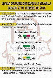 torodigital: La Comisión Taurina de la Calle San Roque de Vill...