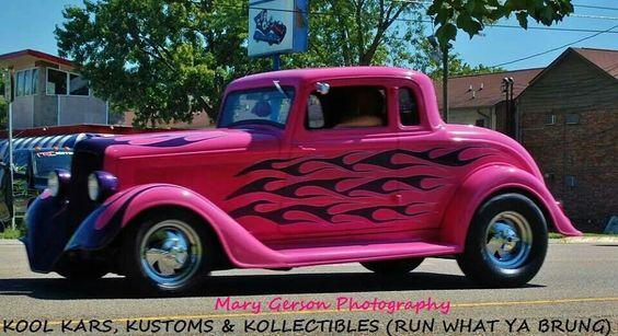 Step aside gentlemen...this is the ladies car!