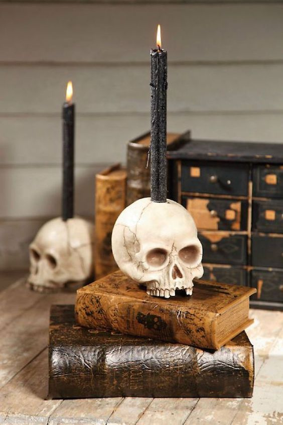 30 Amazing Candle Holder Ideas For A Scary Halloween I Love
