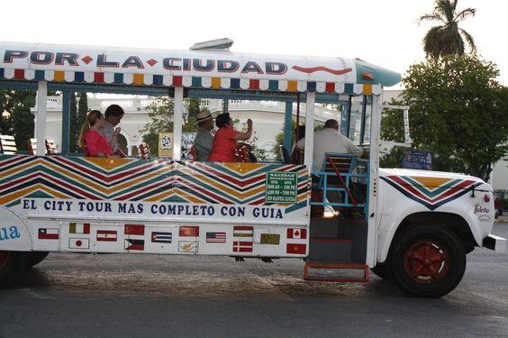 Paseo Gau Gua en Mérida, México