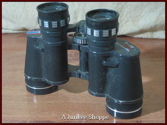 JASON EMPIRE CLIPPER Model 7 x 35 Antique Early 1960's Binoculars Used    Junk0912  http://ajunkeeshoppe.blogspot.com/
